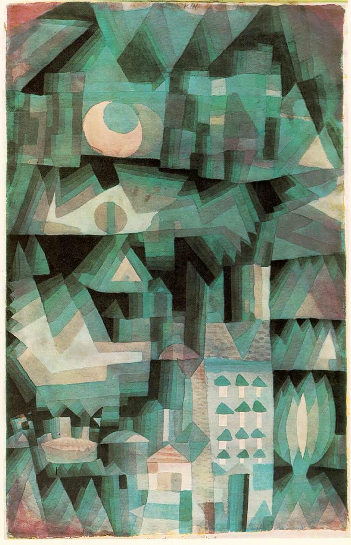Paul Klee. Ville de rêve. Collection privée
